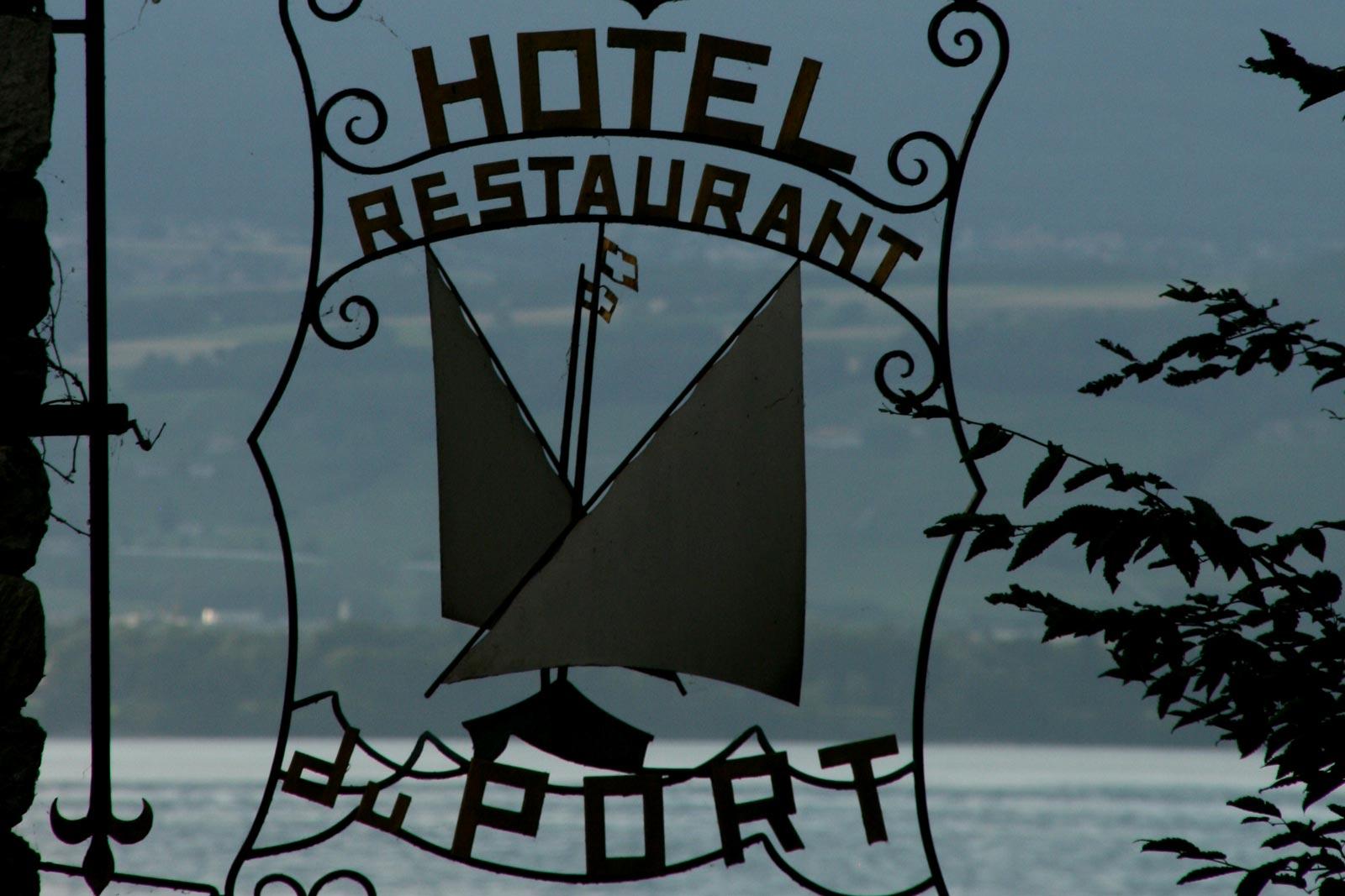 Hhôtel restaurant du Port, Yvoire.