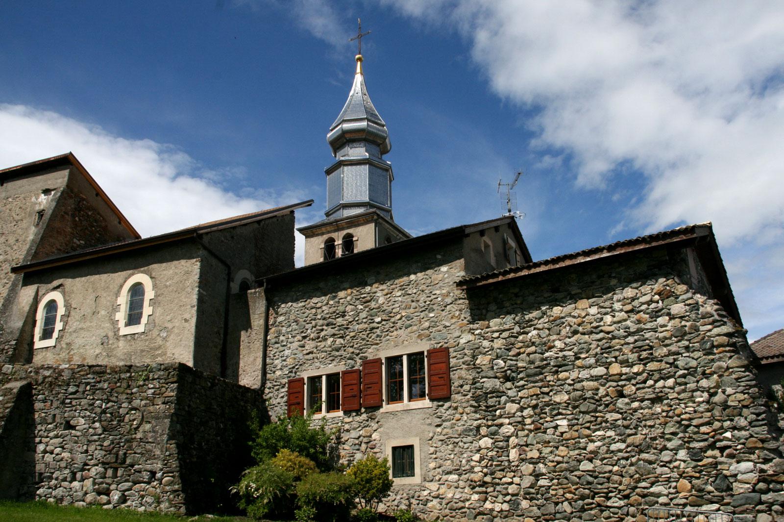 Yvoire en Suisse église