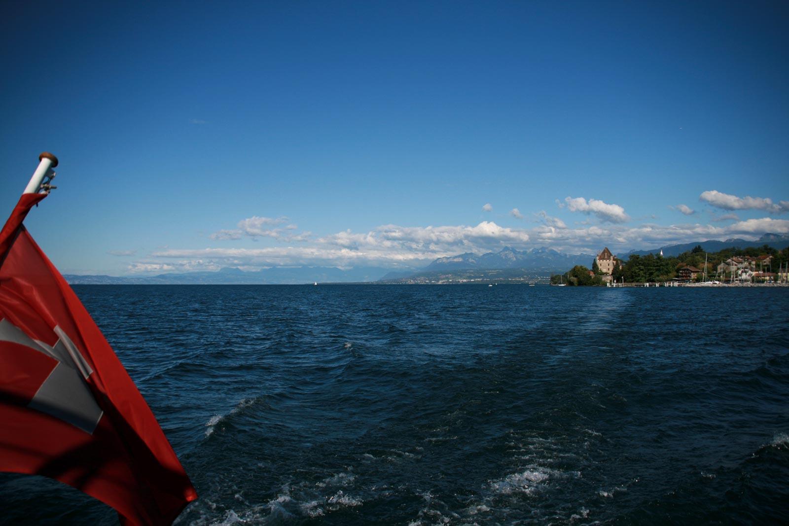Yvoire Evian lac léman
