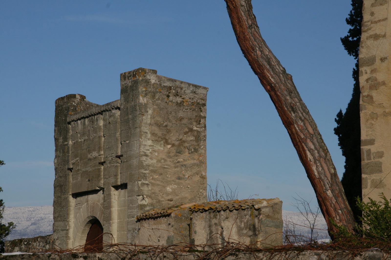 Ppont-levis du château d'Yvoire.