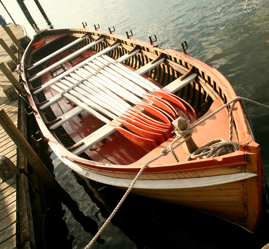 Barque sur le port