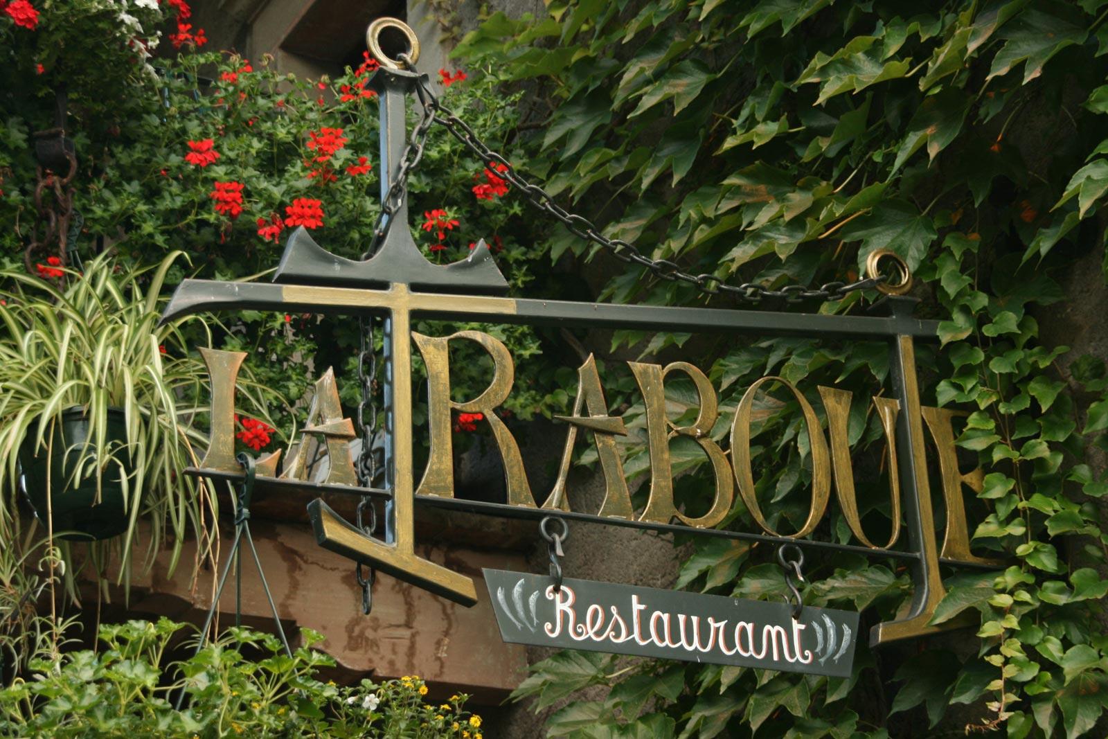 Restaurant la Traboule, Yvoire.